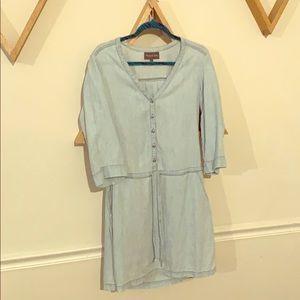 Michael Stars Blue Jean Dress